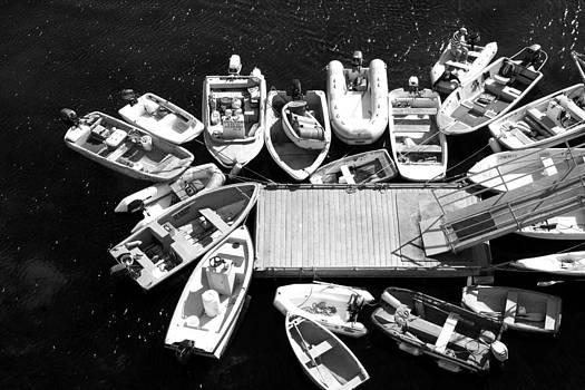 Avalon boats by Mary McGrath