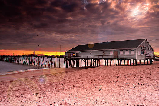 Mary Almond - Avalon Fishing Pier