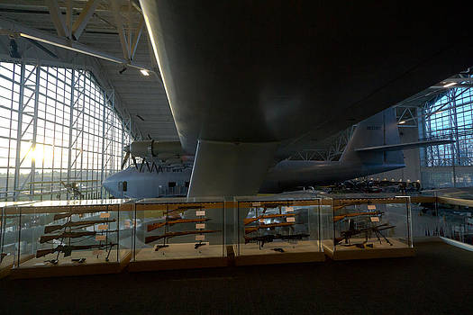 Aviation Ingeniousness - Hughes' Spruce Goose by Kelly Turnage