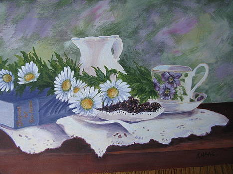 Awaiting time for tea by Fran Haas