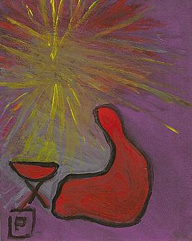 Away in a manger Abstract by Peter  McPartlin