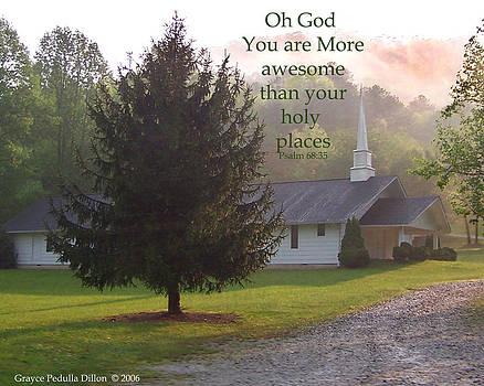 Grace Dillon - Awesome God