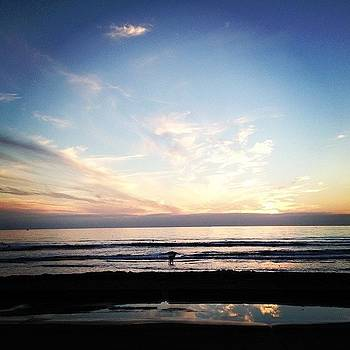 Awesome Sunset In Oceanside California by Rita Spiegel