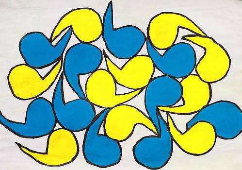 Azul Y Amarillo by Terry Burke