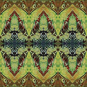 Azuraz Buff Tiled by Sue Duda