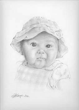 Baby girl by Gill Kaye