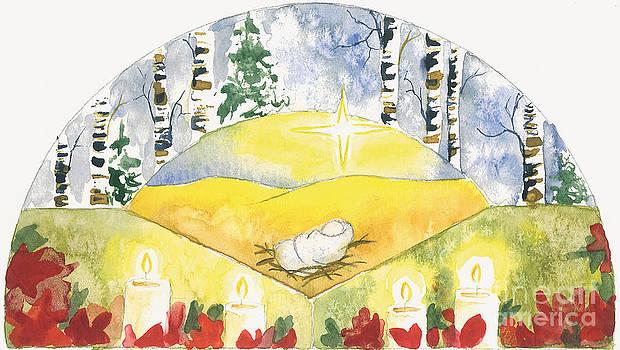 Baby Jesus in the Manger by Sara Alexander Munoz