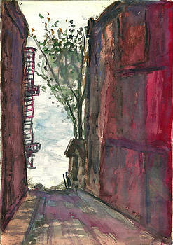 Back Alley Blow by Jan Burley Hunt