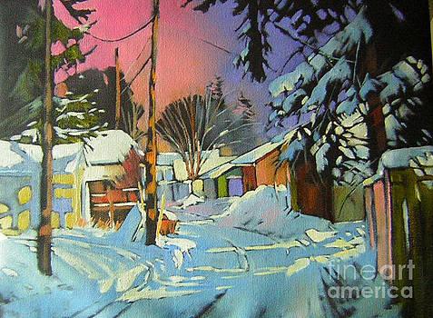 Back Alley Scape by Vivian Dere