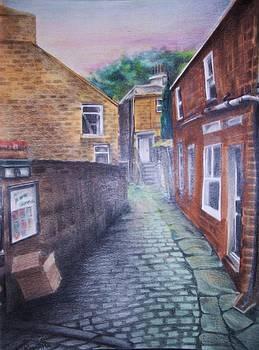 Back alleyway by Kathleen Romana
