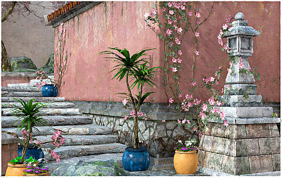 Back Steps by Peter J Sucy