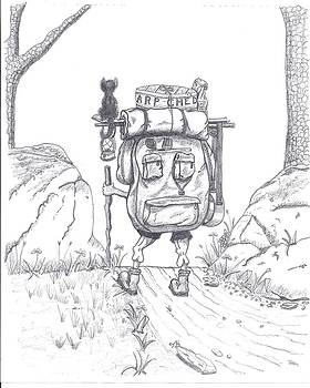 Backpackin With Kitty by Tony  Nelson