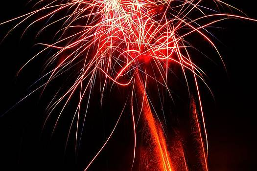 Backyard Fireworks 2012 4 by Robert Morin