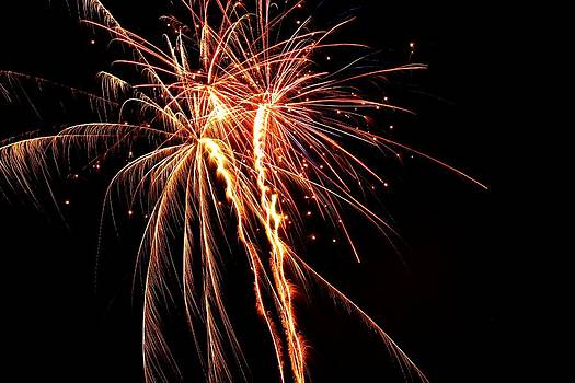Backyard Fireworks 2012 5 by Robert Morin