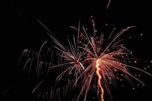 Backyard Fireworks 2012 7 by Robert Morin