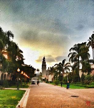Balboa Park at Sunset by John Toma