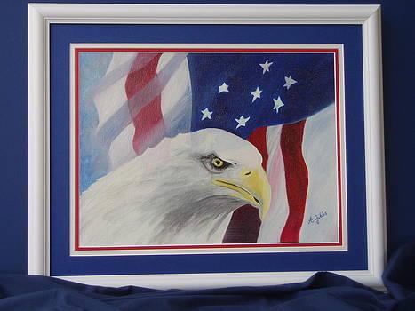 Bald Eagle by Arlene Gibbs