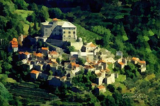 Enrico Pelos - BALESTRINO paese abbandonato - by Enrico Pelos