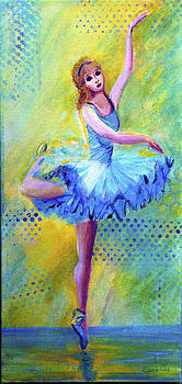 Diana Cox - Ballerina Blue