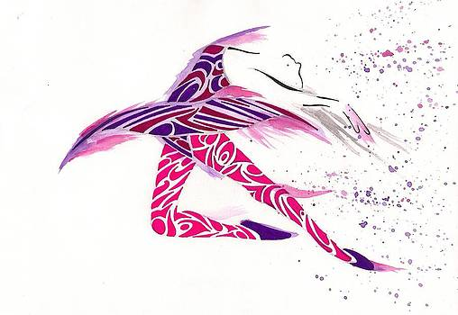 Ballerina Break Free by Raiyan Talkhani