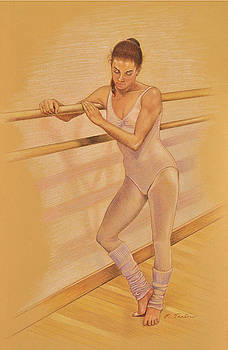 Phyllis Tarlow - Ballet Dancer at the Barre