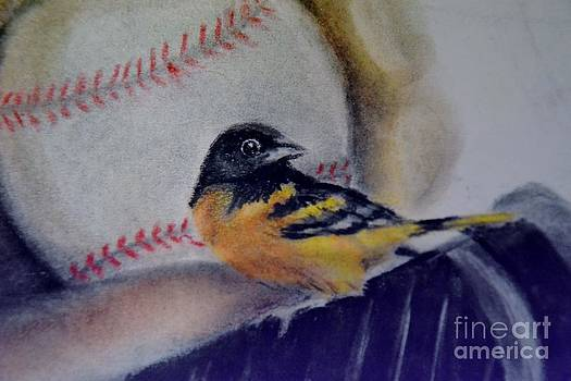 Baltimore Orioles by AE Hansen