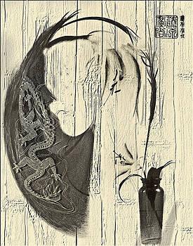 Bamboo Overlay by Jill Balsam