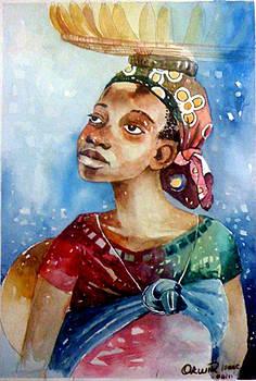 Banana girl by Okwir Isaac