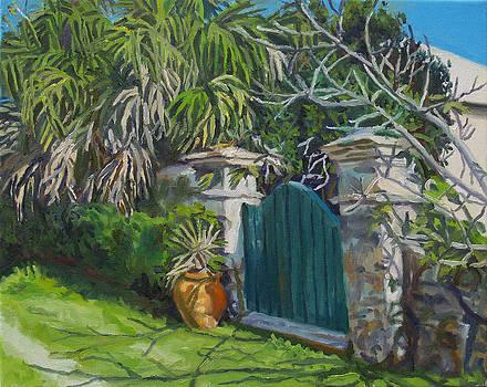 Banana Manor Gate by Otto Trott