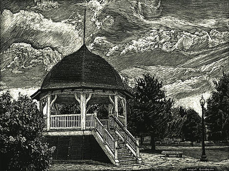 Bandstand on the Commons by Robert Goudreau