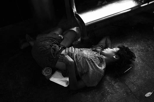 Bangkok Homeless Service by Promphong Hiruntanakitjakul