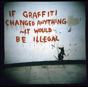 Banksy by Adam Judge