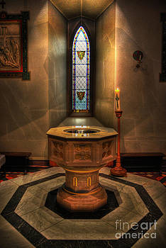 Yhun Suarez - Baptismal Font - St Barnabas Cathedral Nottingham
