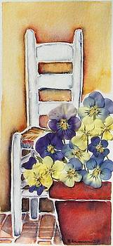 Barbara's Chair by Regina Ammerman