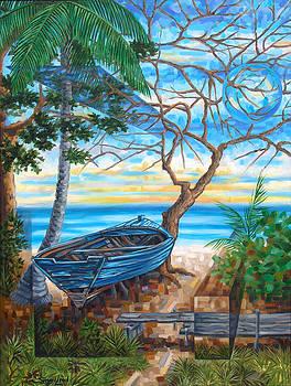 Barca varada II by Samuel Lind