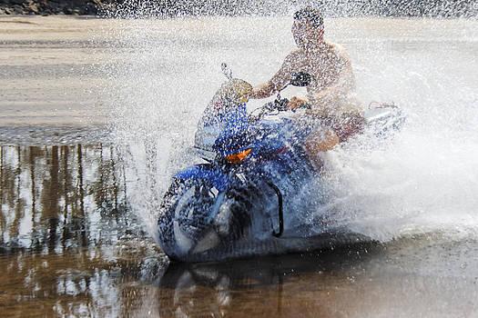 Kantilal Patel - Bare Chest Rider Splash