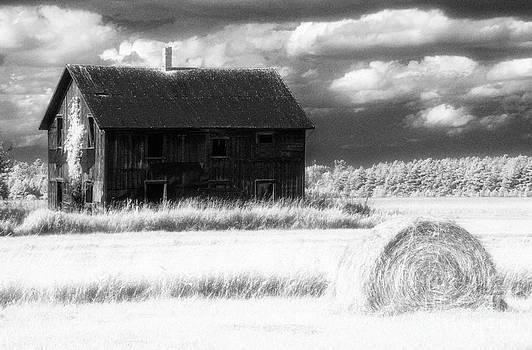 Jeff Holbrook - Barn and Hay Bale