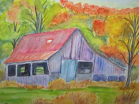 Barn at Round Bottom by Belinda Lawson