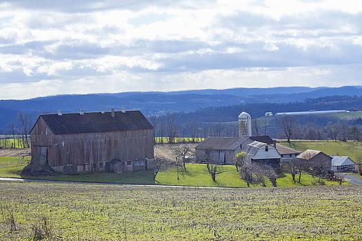 Barn Landscape by Bridget Finn