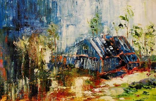 Barn by Larry Ney  II