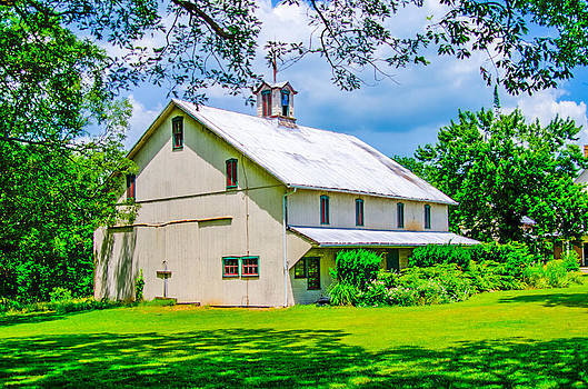 Barn Located at Pinchot State Park Lewisberry Pa by Gordon H Rohrbaugh Jr