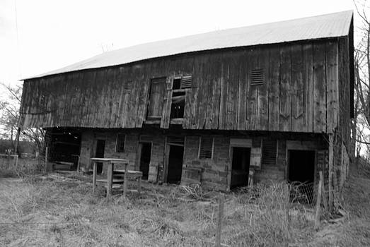 Barn on Cloudy Day by Gordon H Rohrbaugh Jr