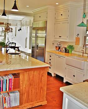 Barnstable Kitchen by Brian  Burbic