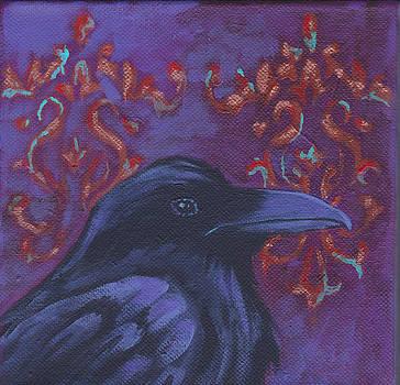 Baroque Raven by Laurel Porter-Gaylord