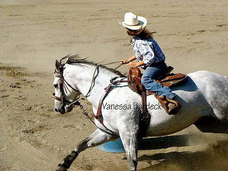 Barrel Racer by Vanessa Bardeck