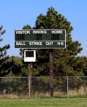 Baseball Scoreboard by Unknown