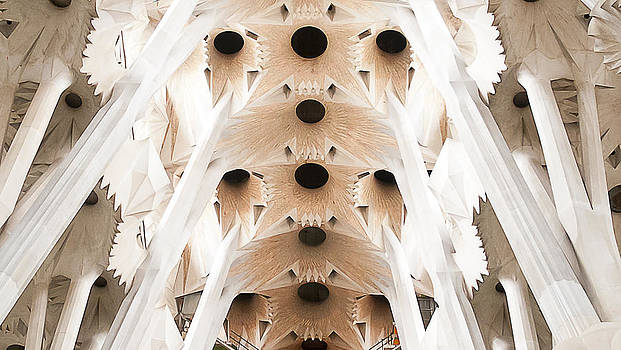 Basilica de la Sagrada Familia in Barcelona by Beth Riser