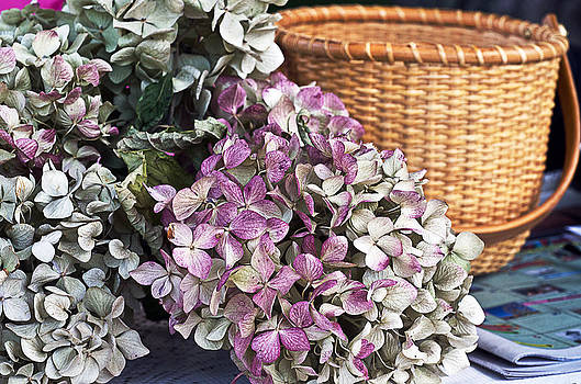 Basket and Flowers by Cheryl Cencich