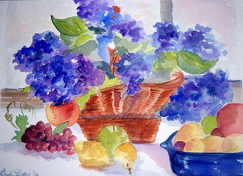 Basket Of Plenty by Linda L Stinson