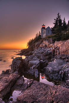 Bass Head Harbor Lighthouse by Gerry Mann